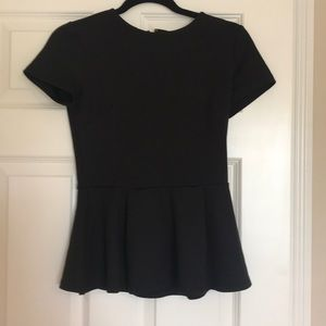 Forever 21 peplum top-Size S